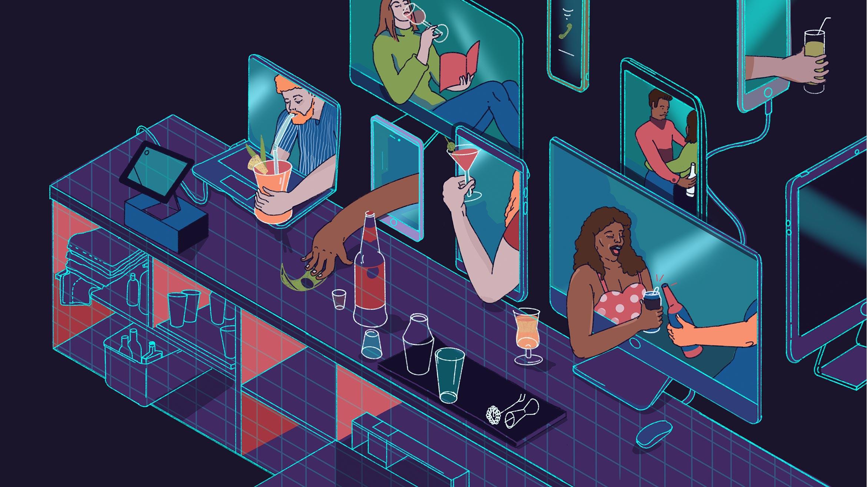 Article-Online-Virtual-Happy-Hour-Quarantine